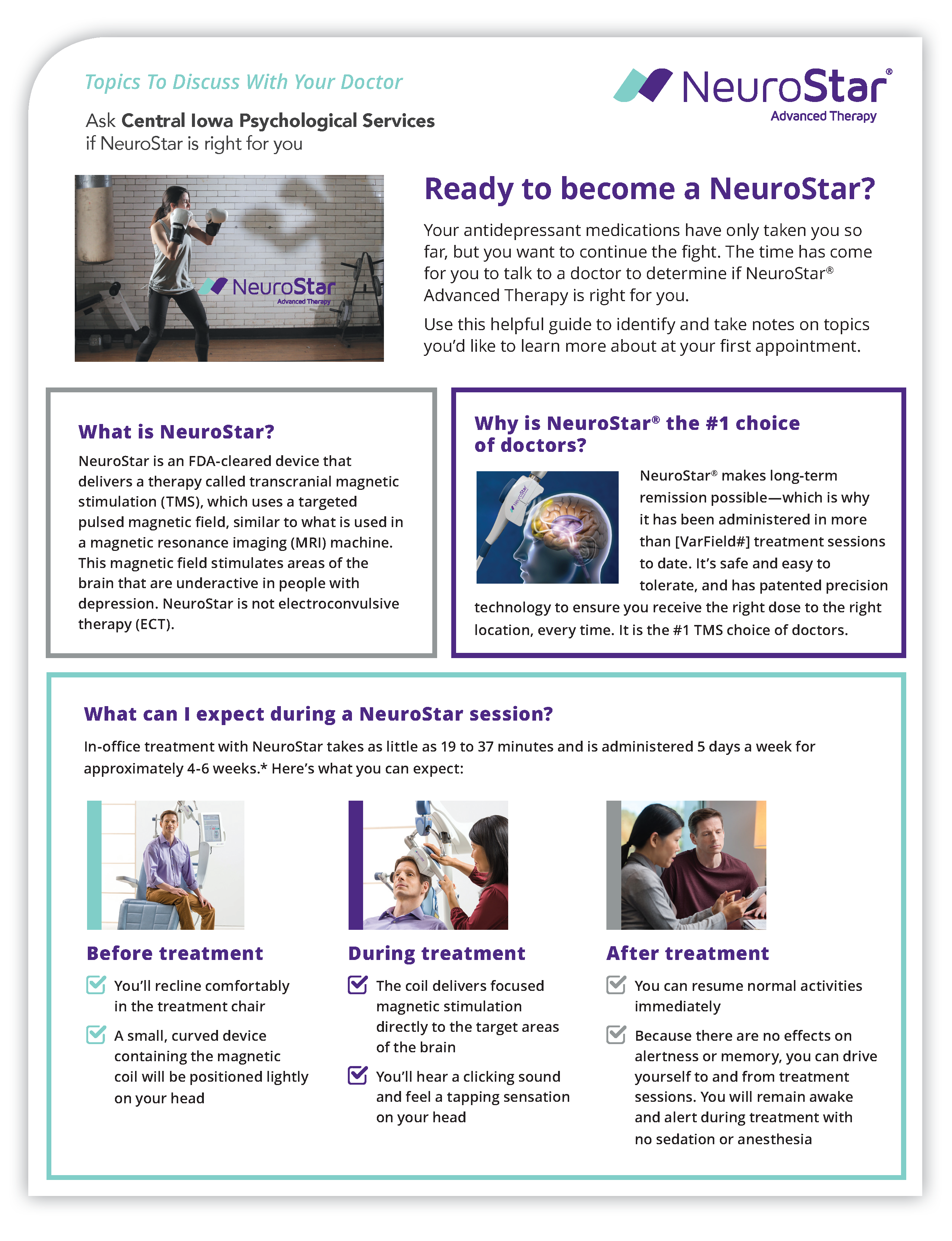 NeuroStar TMS Therapy® Patient Guide for Treating Depression